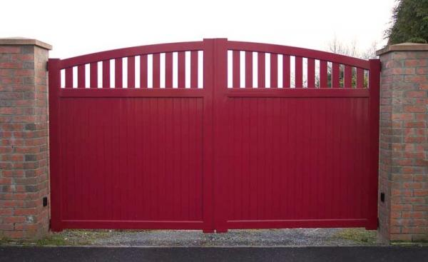 Portail aluminium - Cabourg