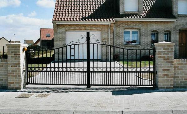 Portail aluminium Amboise