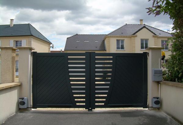 Portail aluminium - Cagnes